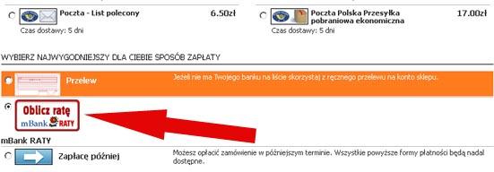 mbank Raty - karambol.pl